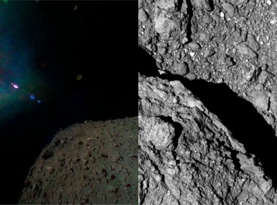 Hayabusa 2 Rovers Start Sending New Images from the Asteroid Surface